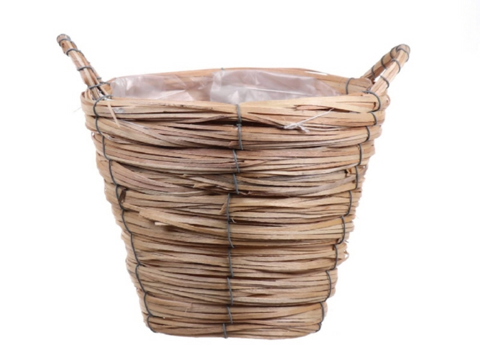 <h4>DF470603400 - Basket Paia1 d17xh13 natural</h4>