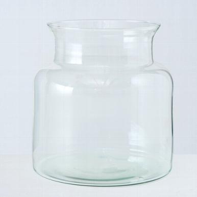 <h4>Vaas Eco-Glas, H 20 cm, Transparant</h4>