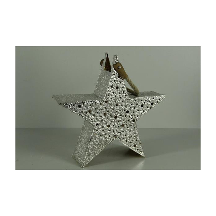 <h4>Lantern Mtl Star Silv/gold 40</h4>