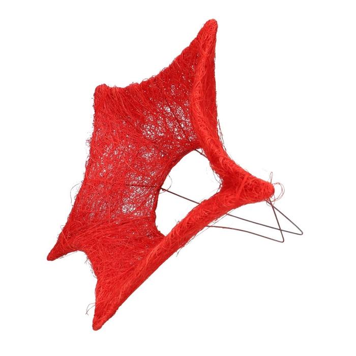 <h4>Christmas Bouquetholder sisal star d25cm</h4>