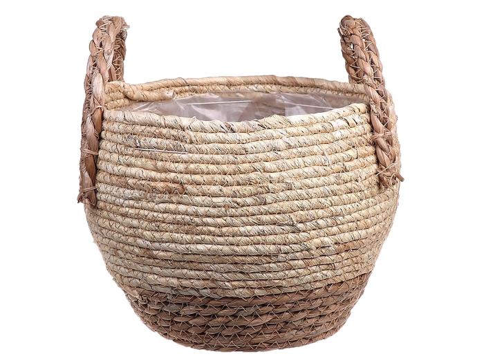 <h4>DF663371000 - Basket Belmar d20.5/24xh18/25 nat/beige</h4>