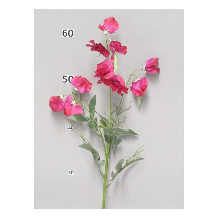 <h4>SILK FLOWERS - SWEET PEA SPRAY BEAUTY 70CM</h4>