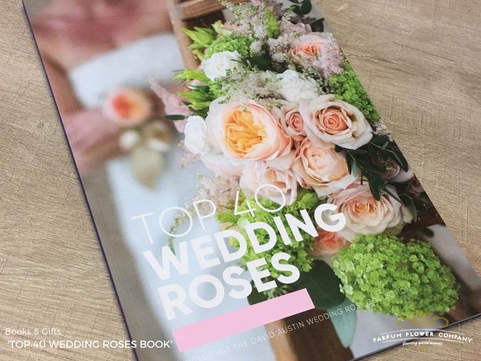<h4>BOOK TOP 40 WEDDING ROSES</h4>