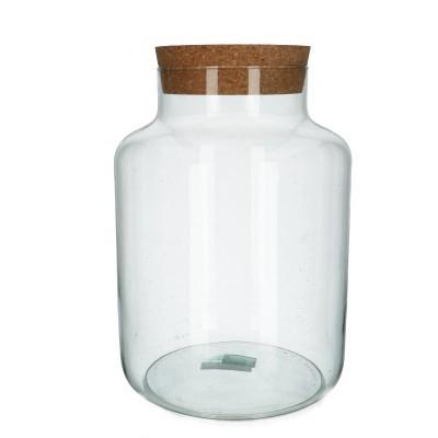 <h4>Glas Eco melkbus d21*29.5cm</h4>