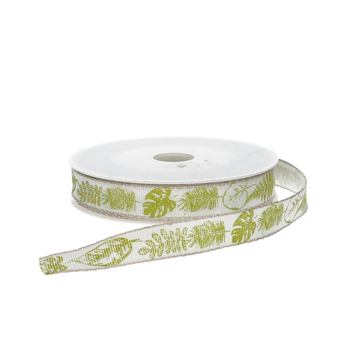<h4>Ribbon Leaves 15mm 15m</h4>