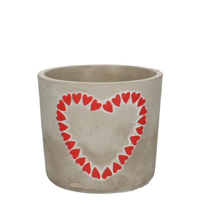<h4>Promo Pot Hearts d12.5*11cm</h4>
