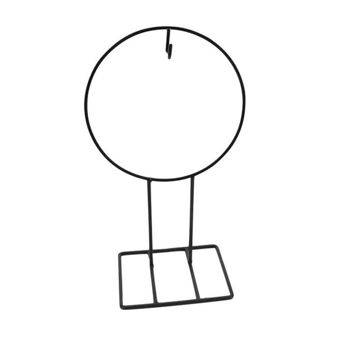<h4>Bloemisterij Ijzeren ring/voet h. d21*35cm</h4>