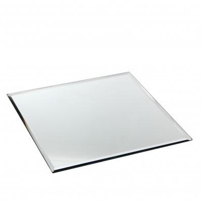 <h4>Glass colour Plate mirror sq d25cm</h4>
