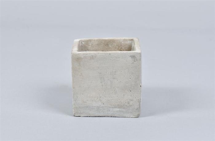 <h4>Beton Pot Vierkant 9x9x9cm</h4>