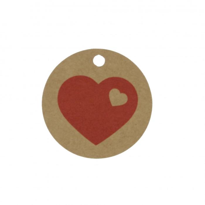 <h4>Valentijn Label hart d05cm x50</h4>