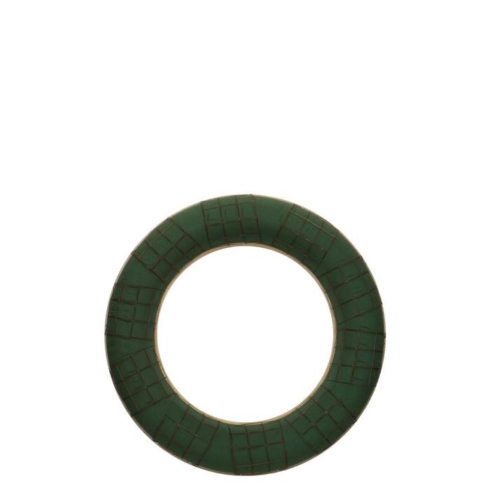 <h4>Foam Basic Wreath+wood d40cm</h4>