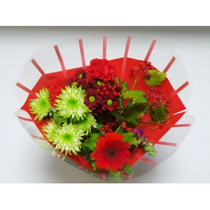 Bouquet 8 stems Red
