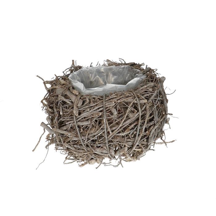 <h4>Baskets Planter d22*12cm Twig</h4>