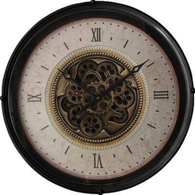 <h4>Clock Gear Ø60cm Black 90633</h4>