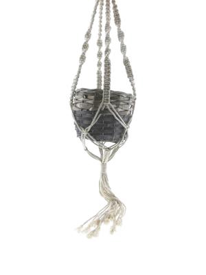 <h4>Basket Willow+hanger Ø21x16cm</h4>