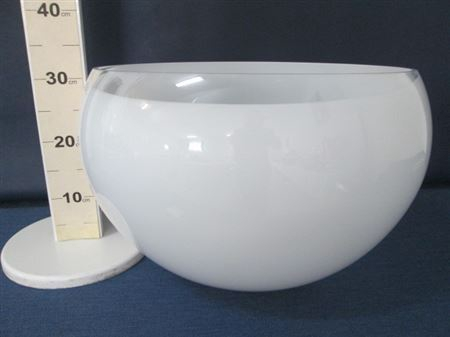 <h4>Bowl glass h32m white</h4>