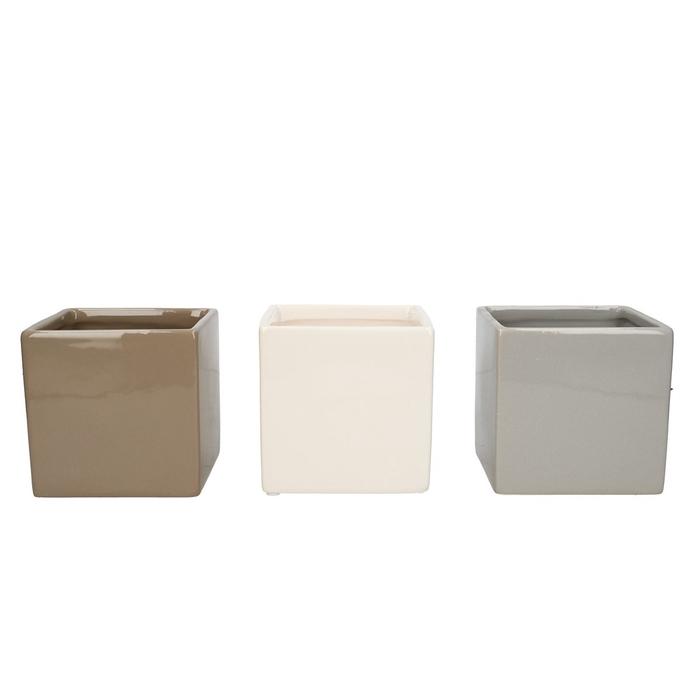 <h4>Ceramics Cube d10*10cm ass.</h4>