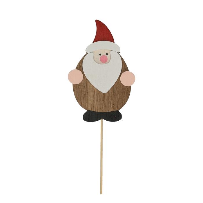 <h4>Christmas sticks 20cm Santa 8cm</h4>