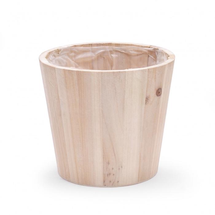 <h4>Hout Tim pot d14.5*13.5cm</h4>