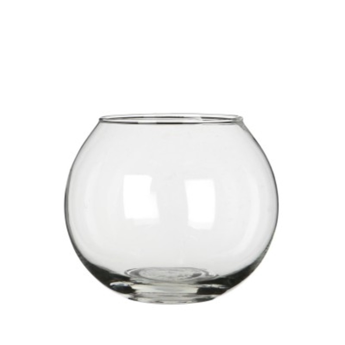 <h4>Glas Kogelvaas d12/7*10cm</h4>
