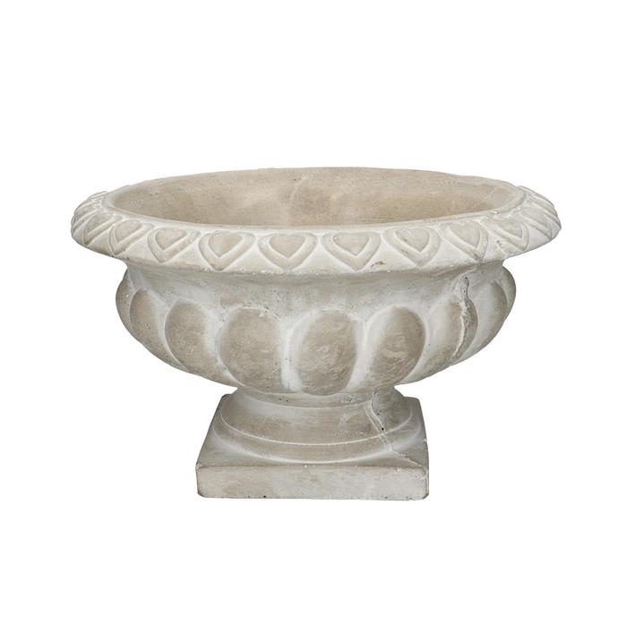 <h4>Ceramics Bedollo urn d28*15cm</h4>