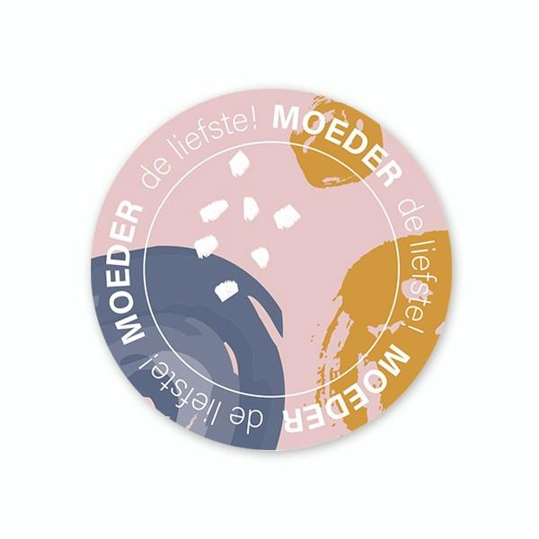 <h4>Labels Sticker 40mm x100 Liefste moeder</h4>