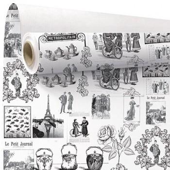 <h4>Papier Rol 80cm 40m Métropolitain</h4>