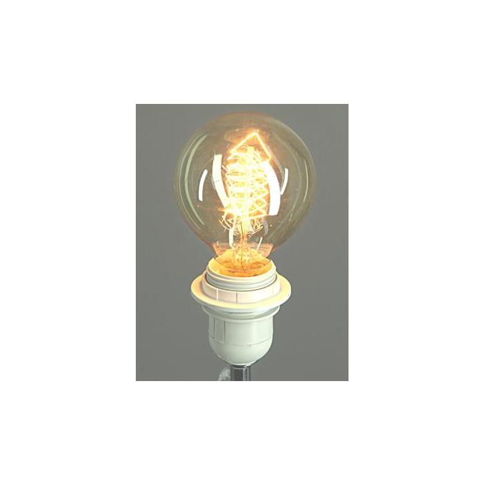 <h4>Lamp Bulb Ø8xh:12cm Amber</h4>