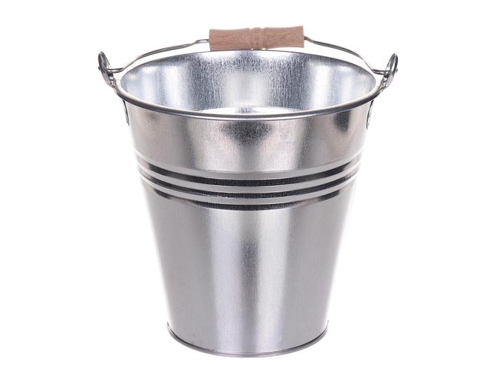 <h4>DF881494600 - Bucket zinc Bushkill d23xh21.5</h4>