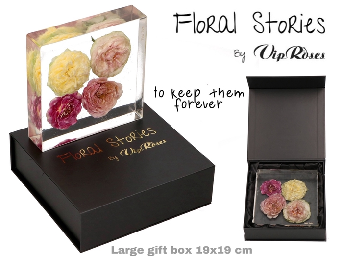<h4>VIP FOSSIL EPOXY LARGE 4 FLOWERS</h4>