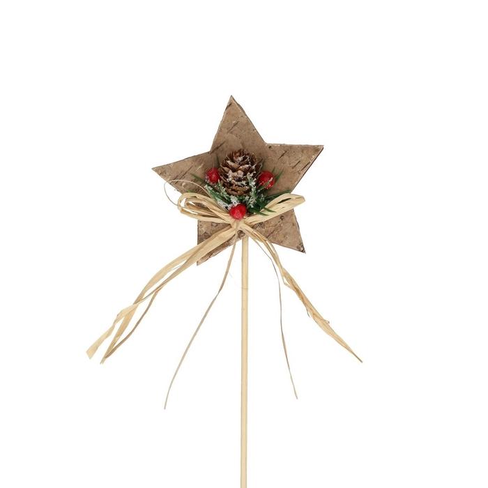 <h4>Christmas sticks 20cm Christmas star d8.5cm</h4>