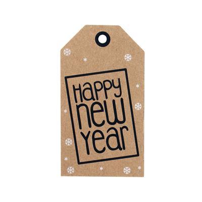 <h4>Bloemkaartjes ma - Happy New Year pakje 20 stuks</h4>