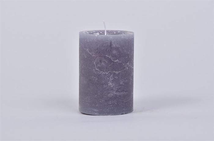 <h4>Kaars Krul Grey Blue 7x10cm</h4>