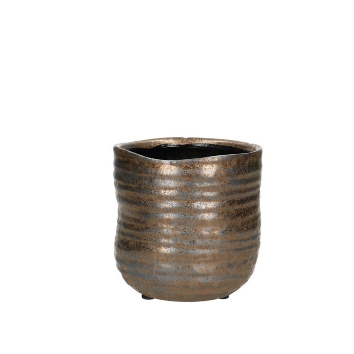 <h4>Ceramics Bronze pot d11.5*11cm</h4>