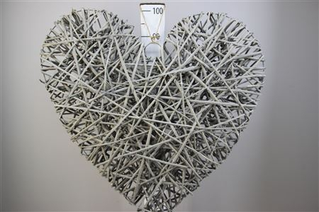 <h4>Heart Rattan Twine 90x90 H12</h4>