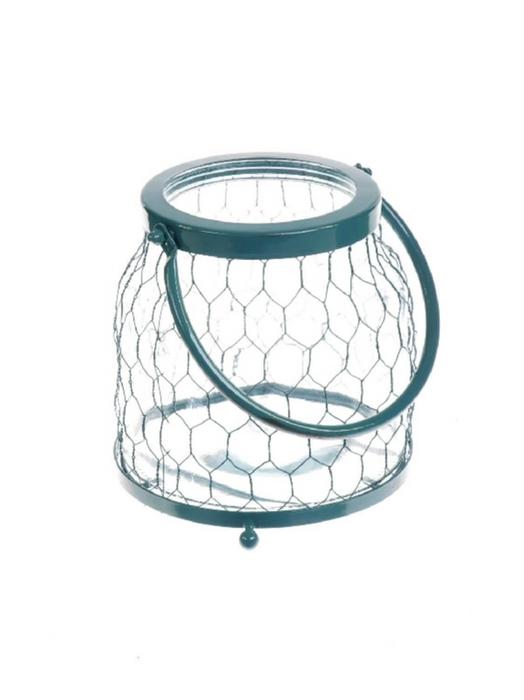 <h4>DF530362100 - Vase Braxlin1 d13/16.5xh22 green</h4>
