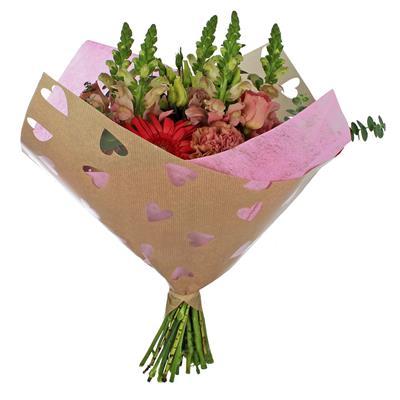 <h4>Housses 35x35cm OPP40/Fibre Obl. Sweetheart rose</h4>