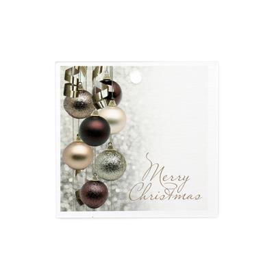 <h4>Bloemkaartjes ma - Merry Christmas pakje 20 stuks</h4>