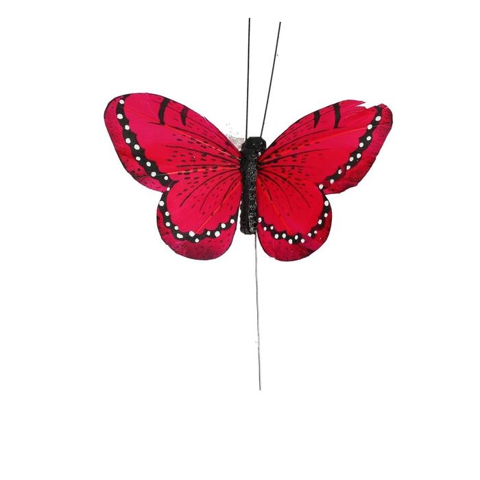 <h4>Voorjaar Vlinder/draad 10.5cm ass.</h4>