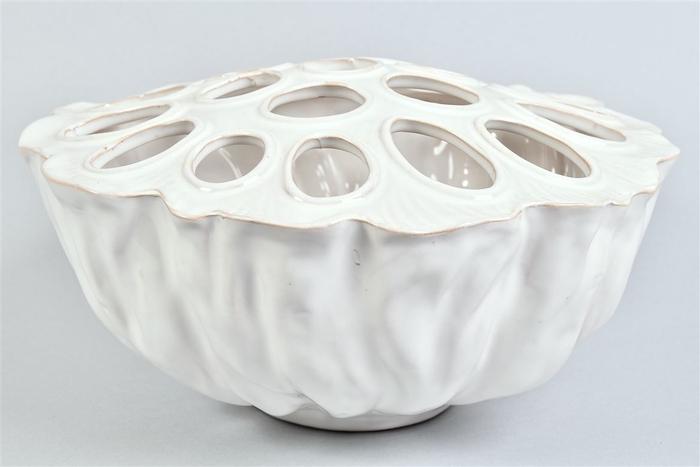 <h4>Lotus Schaal Pure White 30x17cm</h4>