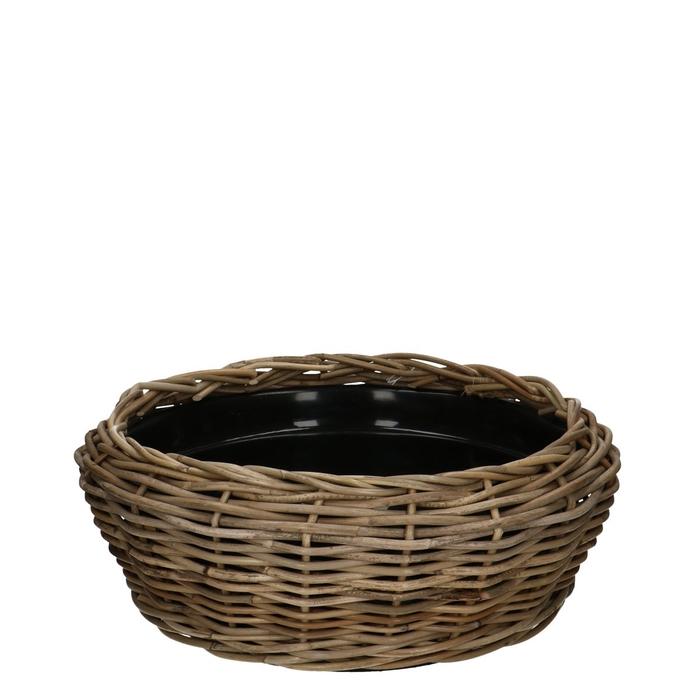 <h4>Baskets Rattan Drydish d46*18cm</h4>