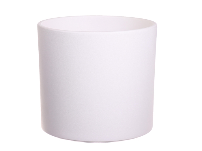 <h4>DF884364100 - Pot Maceo d23.5xh21.5 white</h4>