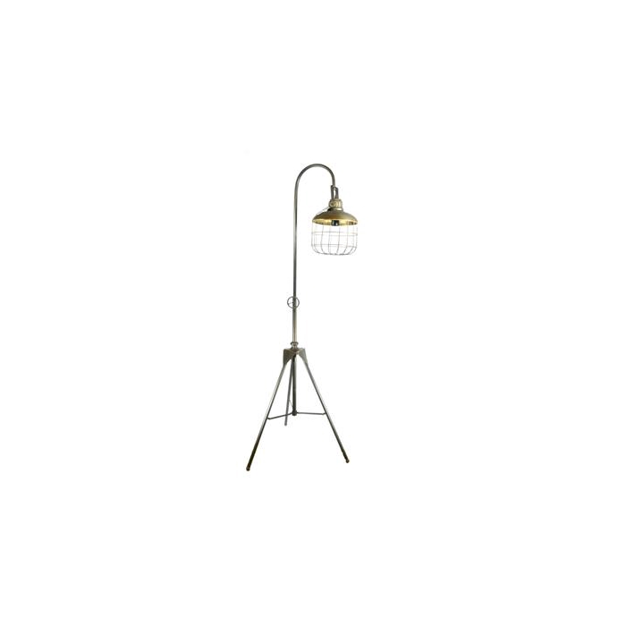 <h4>Lamp Mtl Stand 65x71x117 Gold</h4>