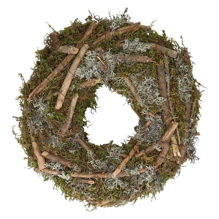 <h4>Wreath d30cm Mix moss</h4>