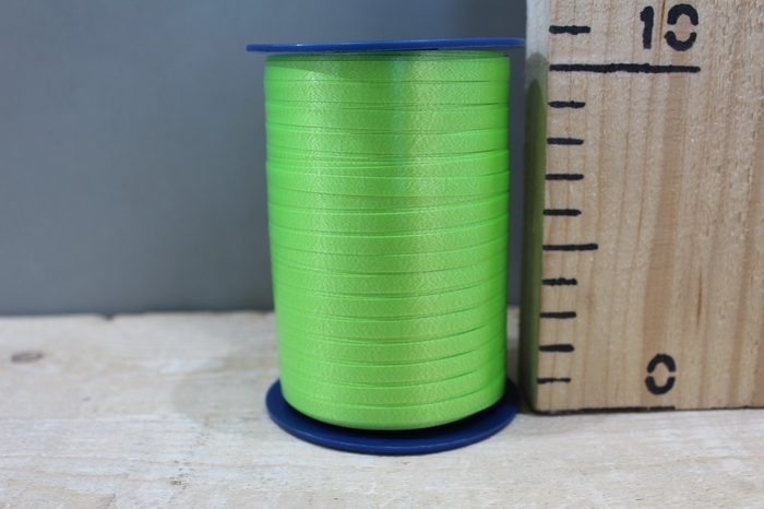 <h4>CURLY RIBBON 5MM X 500M LIME 630</h4>