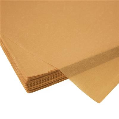 <h4>Papier vel: 50x75cm zijde 480 vellen 17gr kraft *</h4>