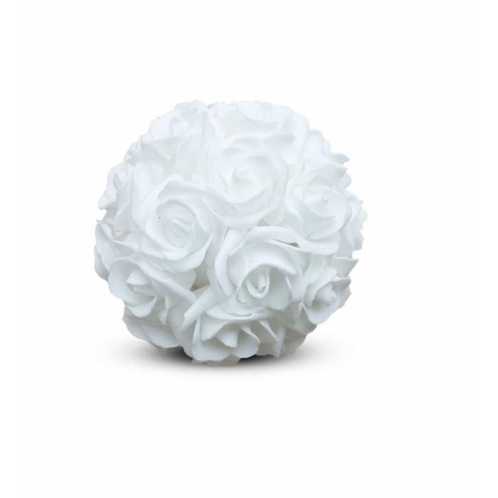 <h4>Bruiloft Roos bal foam d15cm</h4>