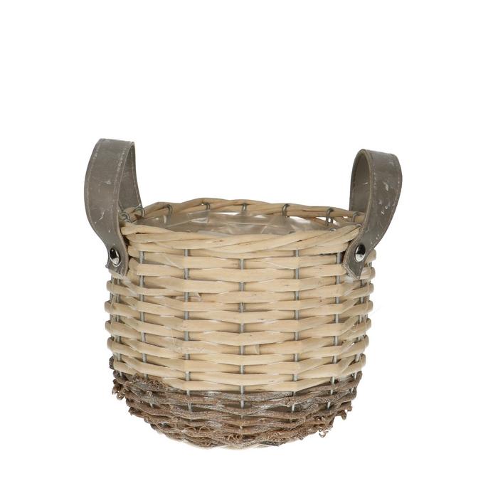 <h4>Baskets Sylvie pot+handle d16*14cm</h4>