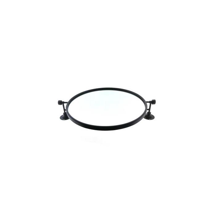 <h4>Mirror Mtl Wall 61x50x12 Black</h4>