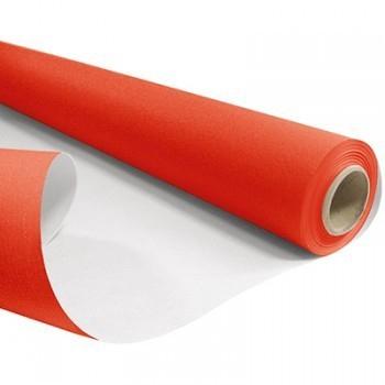 <h4>Papier Rol 80cm 40m 60g Wit/Rood</h4>